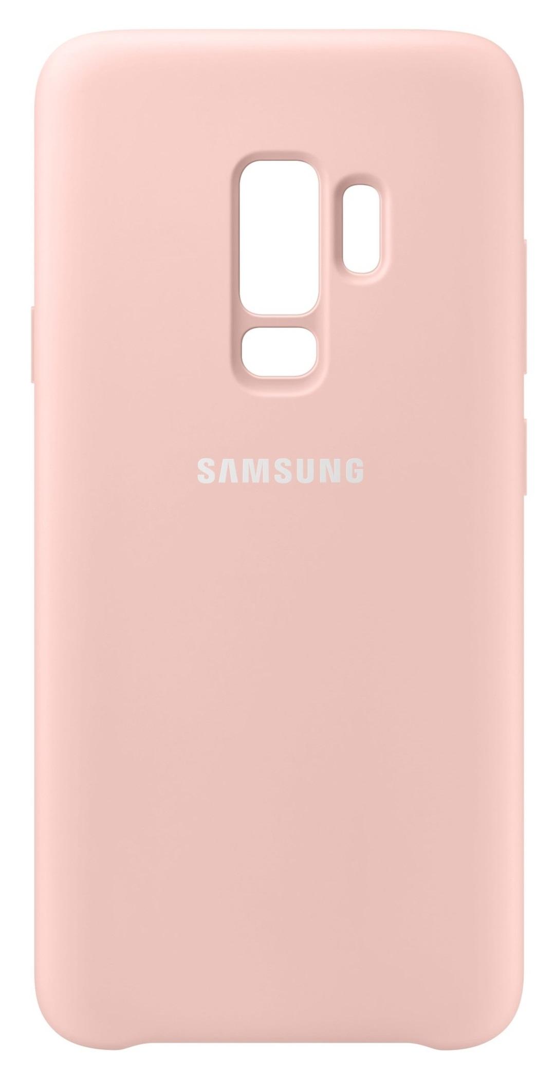 Husa Samsung EF-PG965TPEGWW silicon roz pentru Samsung Galaxy S9 Plus (G965)