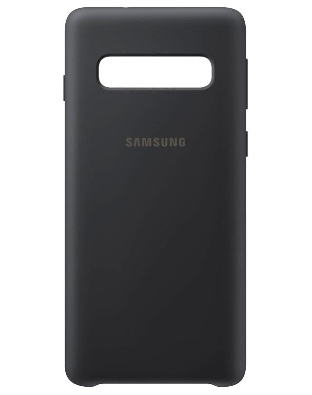 Husa Samsung EF-PG973TBEGWW silicon neagra pentru Samsung Galaxy S10 (G973F)