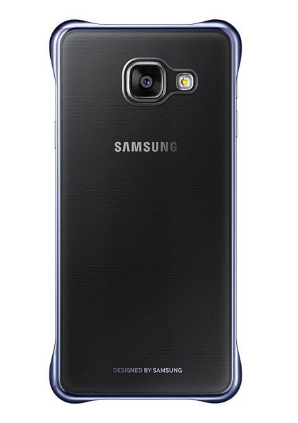 Husa Samsung EF-QA310CBEGWW transparent + negru pentru Samsung Galaxy A3 (SM-A310FU) 2016