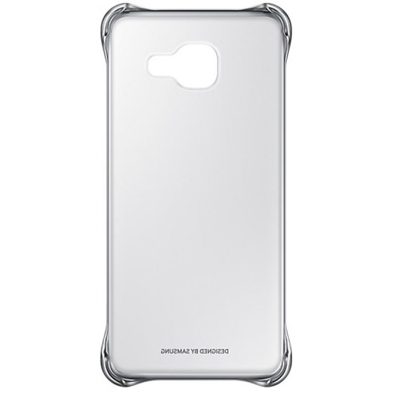 Husa Samsung EF-QA310CSEGWW transparent + argintiu pentru Samsung Galaxy A3 (SM-A310FU) 2016