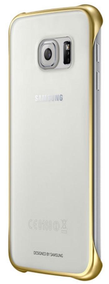 Husa Samsung Ef-qg920bfegww Transparent + Auriu Pe