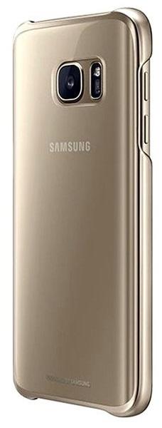 Husa Samsung Ef-qg930cfegww Transparent + Auriu Pe