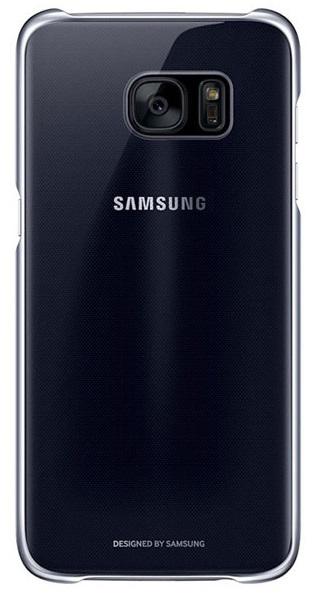 Husa Samsung Ef-qg935cbegww Transparent + Negru Pe
