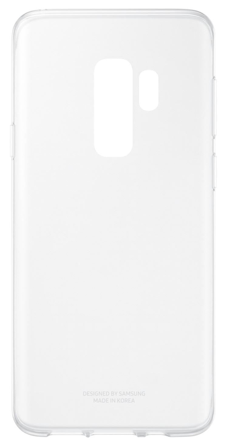 Husa Samsung EF-QG965TTEGWW plastic transparent pentru Samsung Galaxy S9 Plus (G965)