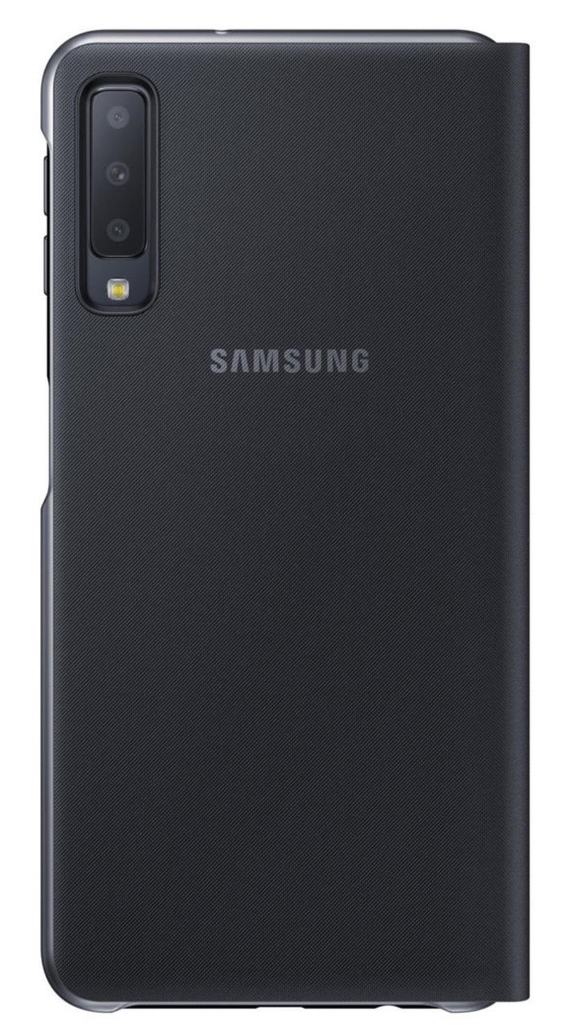 Husa tip carte Samsung EF-WA750PBEGWW neagra pentru Samsung Galaxy A7 2018 (A750)