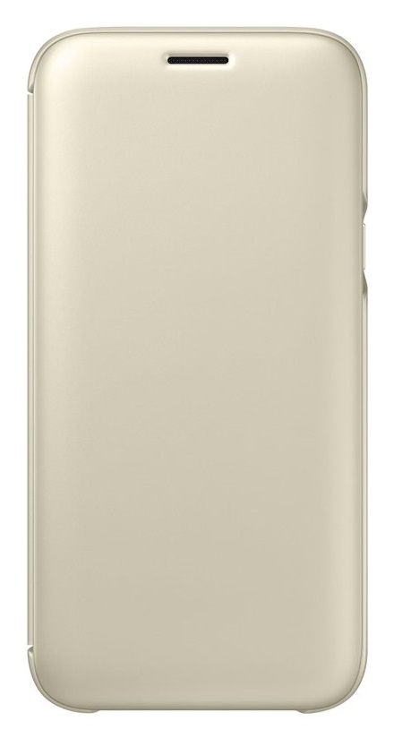 Husa Samsung EF-WJ530CFEGWW tip carte aurie pentru Samsung Galaxy J5 (SM-J530) 2017