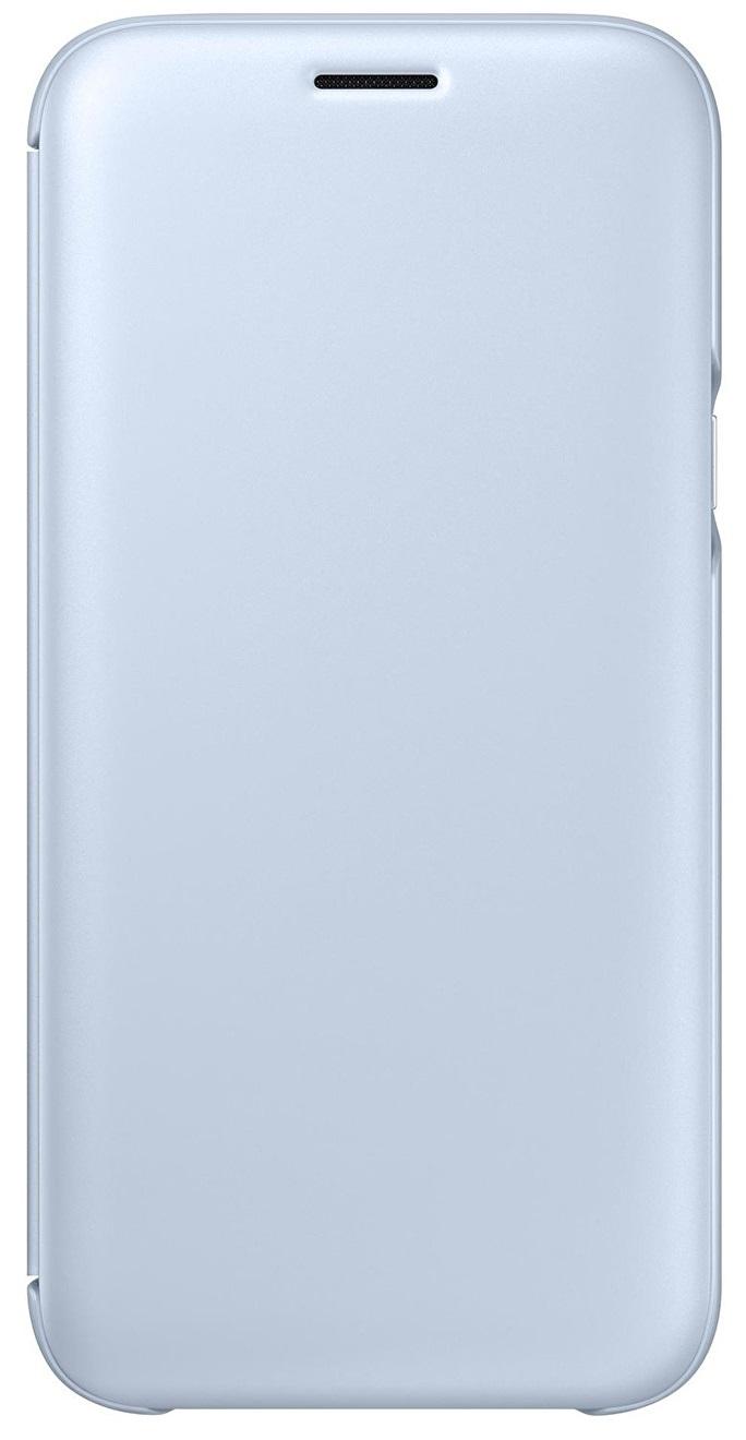 Husa Samsung EF-WJ530CLEGWW tip carte albastru coral pentru Samsung Galaxy J5 (SM-J530) 2017