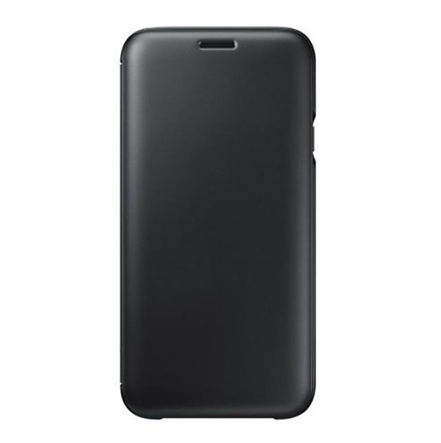 Husa Samsung EF-WJ730CBEGWW tip carte neagra pentru Samsung Galaxy J7 (2017) J730