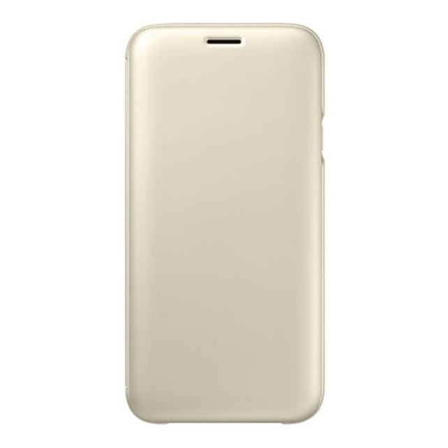Husa Samsung EF-WJ730CFEGWW tip carte aurie pentru Samsung Galaxy J7 (2017) J730