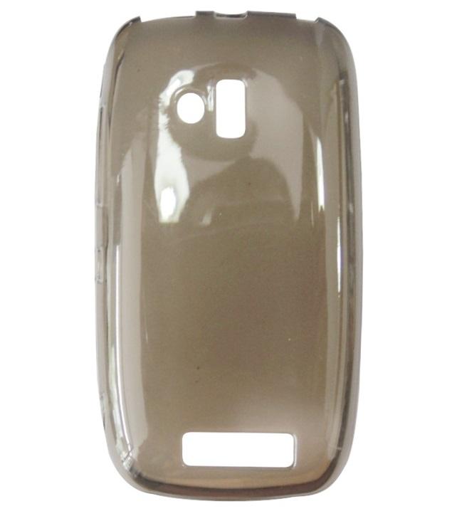Husa silicon fumurie semitransparenta pentru Nokia Lumia 610
