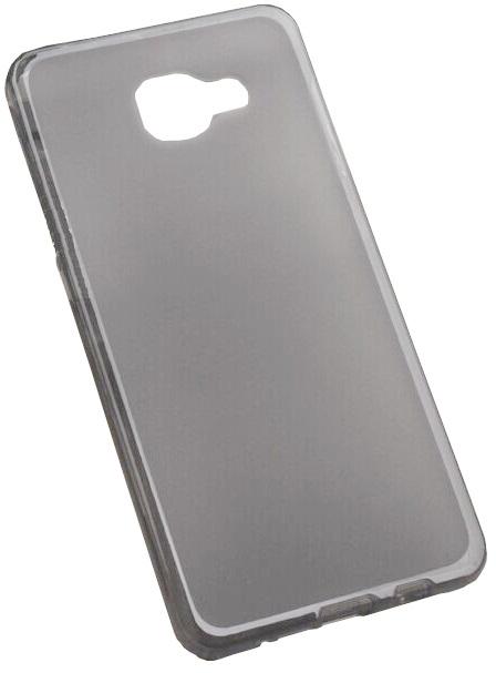 Husa silicon fumurie (cu spate mat) pentru Samsung Galaxy A7 (SM-A710F) 2016