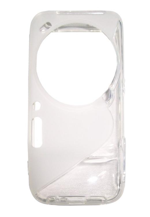 Husa silicon S-line transparenta pentru Samsung Galaxy S4 Zoom (SM-C1010)