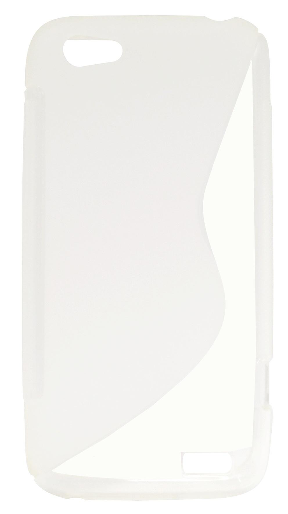 Husa silicon S-line transparenta pentru HTC One V
