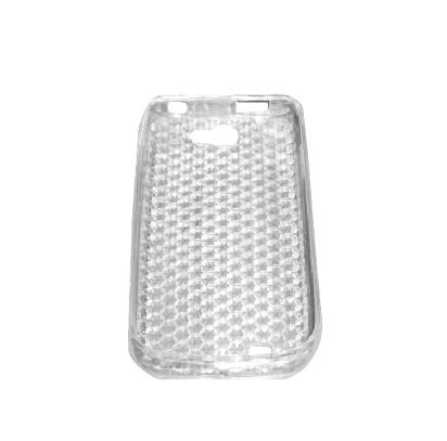 Husa silicon transparenta (tip fagure) pentru Samsung Galaxy W (Wonder) i8150