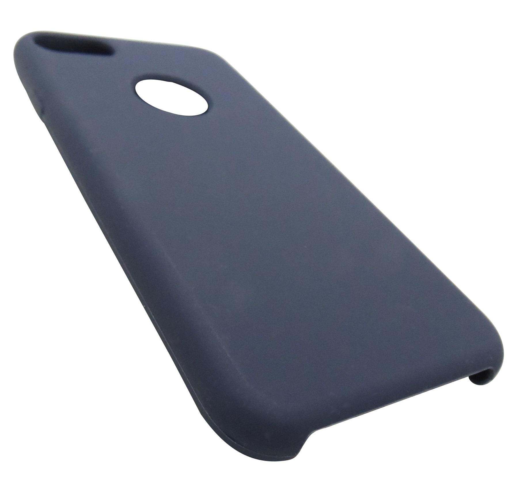 Husa silicon TPU Matte (anti-amprenta, anti-alunecare) bleumarin pentru Apple iPhone 7/8