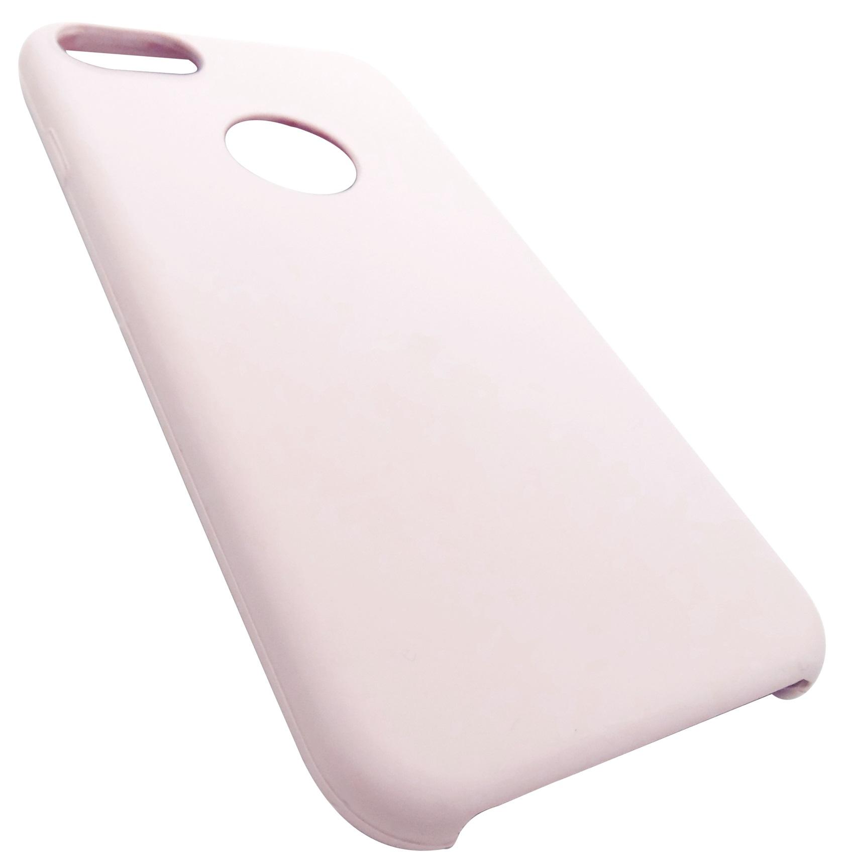 Husa silicon TPU Matte (anti-amprenta, anti-alunecare) roz pentru Apple iPhone 7/8