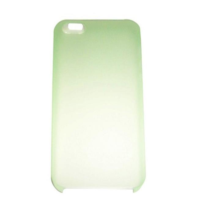 Husa silicon ultraslim verde deschis pentru Apple iPhone 5/5S/SE
