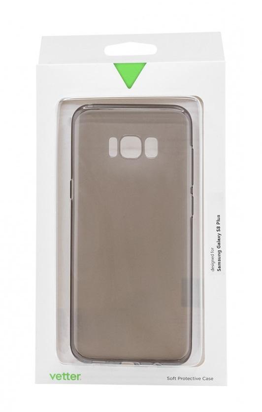 Husa silicon Vetter Ecoline Soft Touch Ultraslim fumurie pentru Samsung Galaxy S8 Plus G955