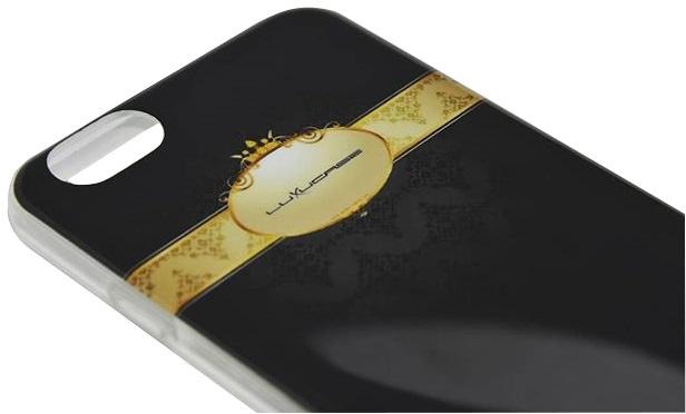 Imagine indisponibila pentru Husa tip capac spate Luxucase PROUD The King neagra pentru Apple iPhone 6/6S