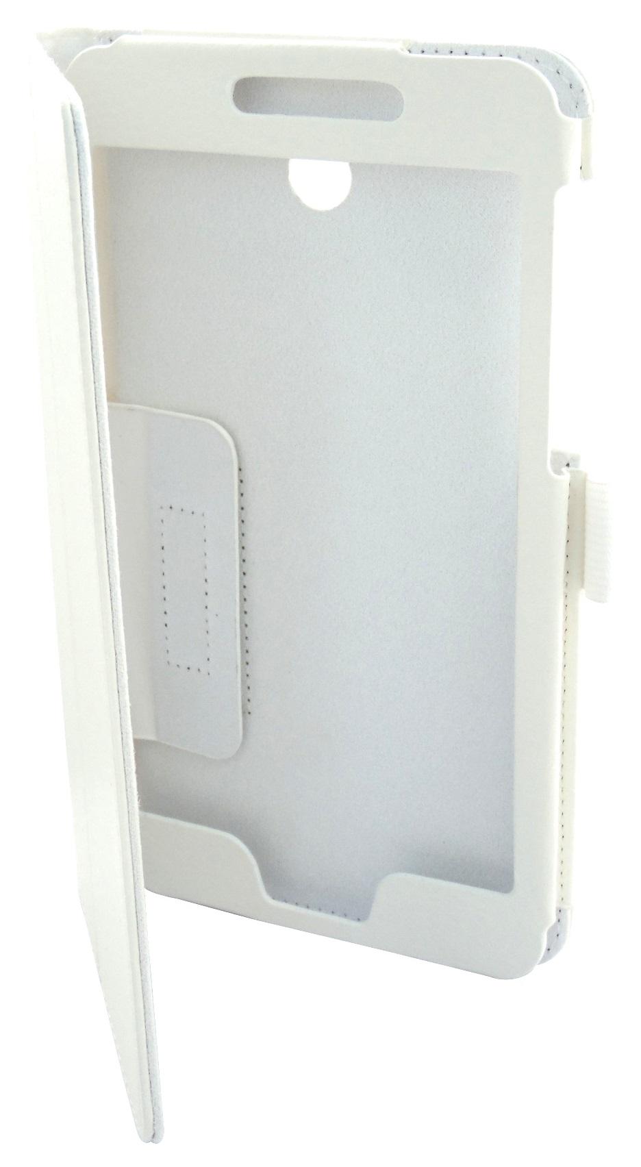 Husa tip carte alba cu stand pentru Asus Fonepad 7 FE375CG