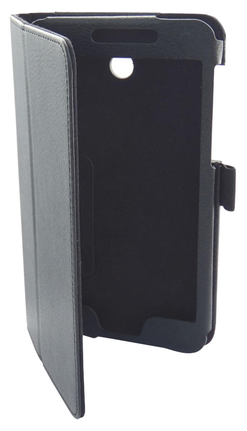 Husa tip carte neagra cu stand pentru Asus Fonepad 7 FE375CG
