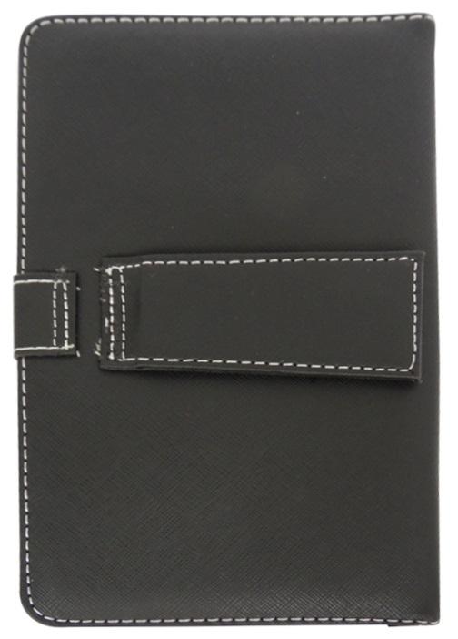 Husa tip carte neagra universala reglabila cu tastatura pentru tablete de 7inch - 8 inch