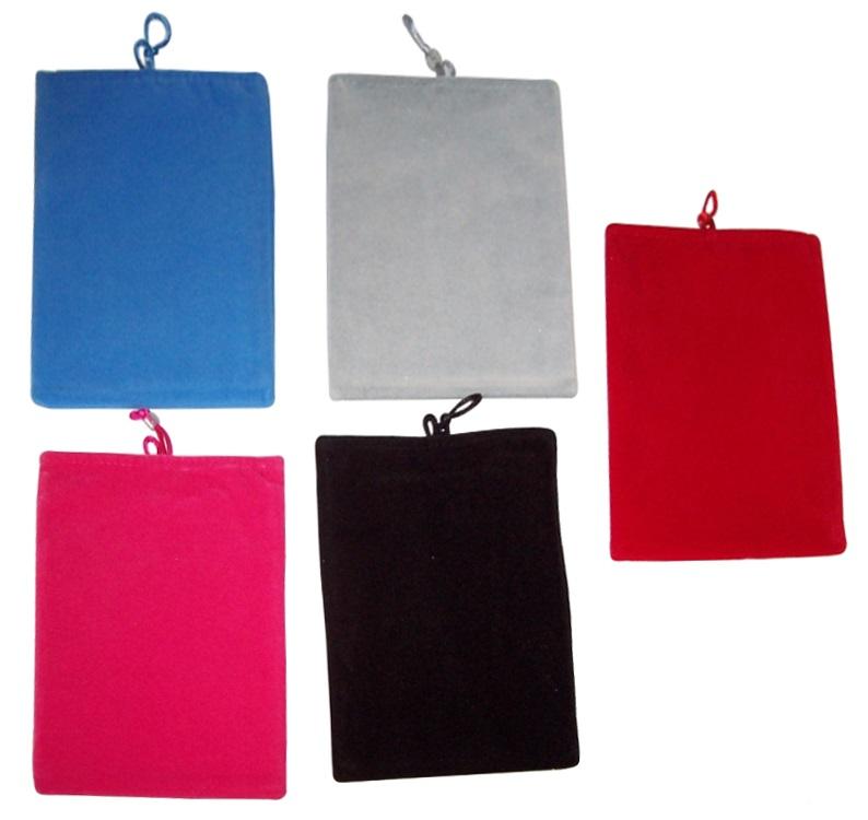 Husa universala catifelata (diverse culori) pentru tablete de 7 inch