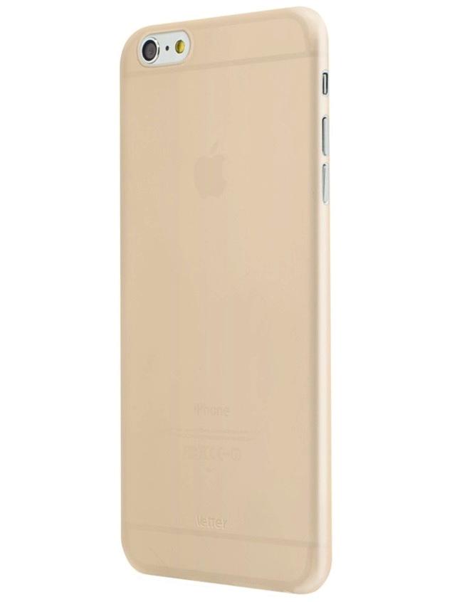 Husa Vetter Clip-On Air Series Ultra Thin aurie pentru Apple iPhone 6/6S