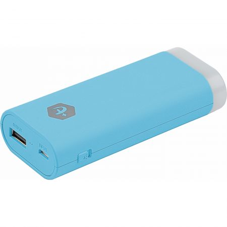 Incarcator mobil de urgenta (Power Bank) A+ PBL1X5-BL cu lanterna, 5000 mAh, albastru
