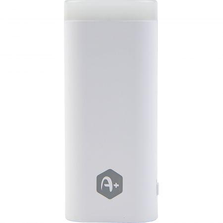 Incarcator mobil de urgenta (Power Bank) A+ PBL1X5-W cu lanterna, 5000 mAh, alb