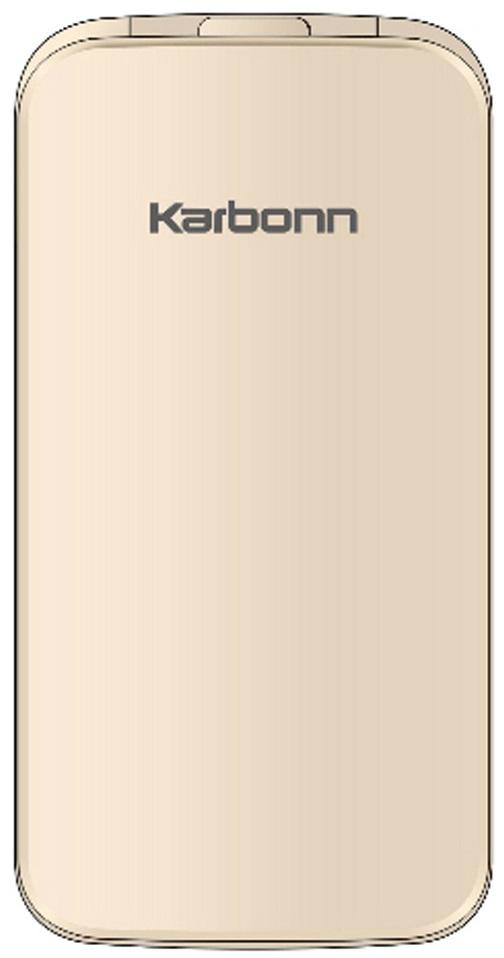 Karbonn K-flip Dual Sim Gold