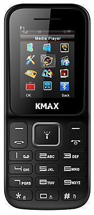Kmax P1 Dual Sim Black