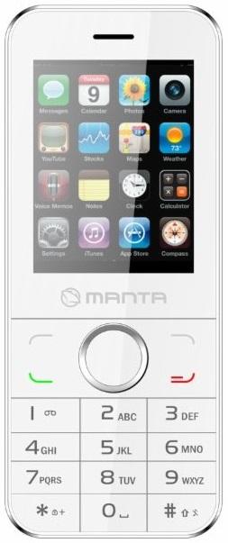 Manta Ms2402 Dual Sim White