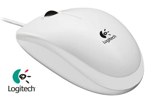 Mouse Logitech B100 Cu Fir Alb