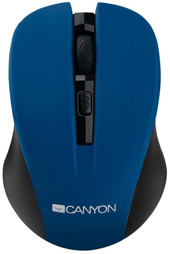 Mouse Canyon Cne-cmsw1 Fara Fir Albastru + Negru