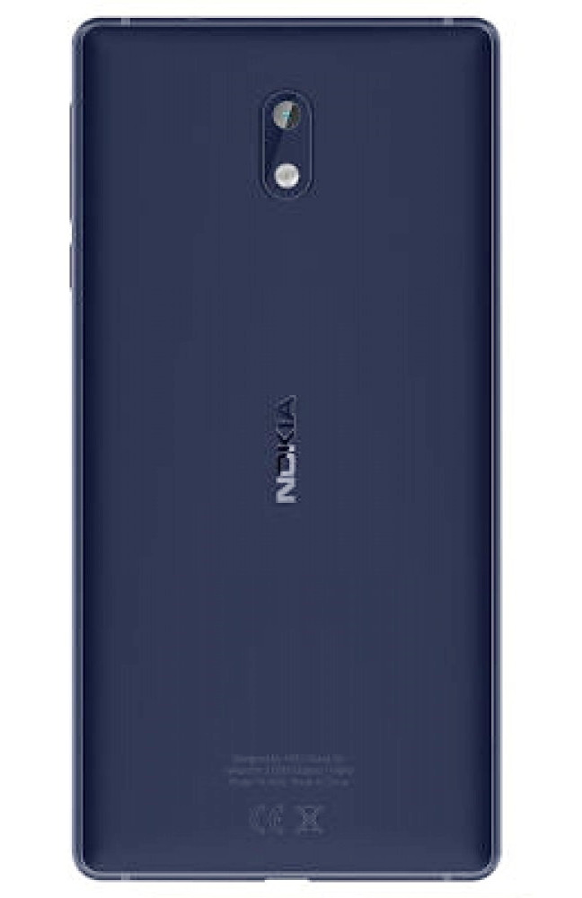 Nokia 3 Dual Sim Tempered Blue