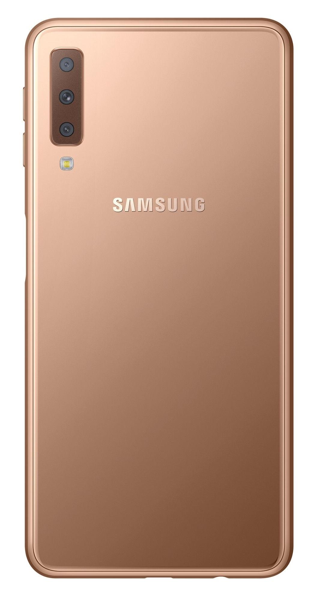 Samsung Galaxy A7 2018 (SM-A750F) Dual Sim Gold