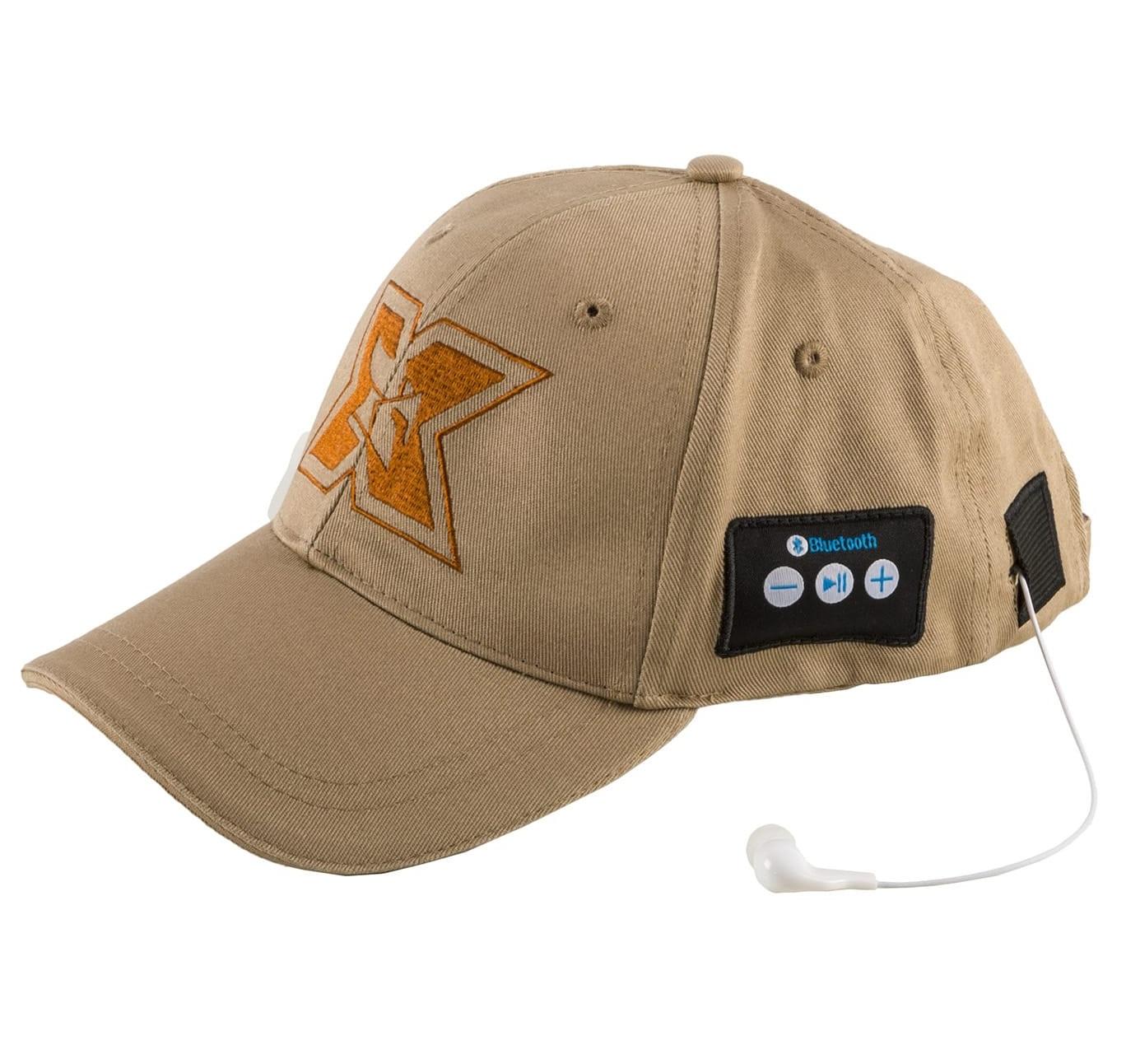 Sapca sport cu casti Bluetooth Serioux CAP05 kaki