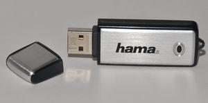 Stick De Memorie Hama Fancy Usb 2.0 64gb Argintiu + Negru