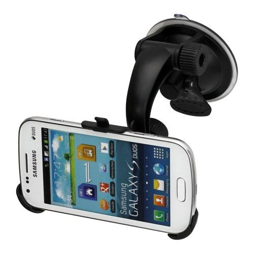 Suport Auto (carh) Pentru Telefonul Samsung Galaxy Trend S7560 / Galaxy S Duos S7562 / Galaxy Trend Plus S7580 / Galaxy S Duos 2 S7582
