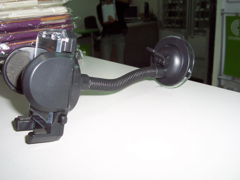 Suport Auto Universal Reglabil (cu Brat Lung) Pentru Telefoane Mobile
