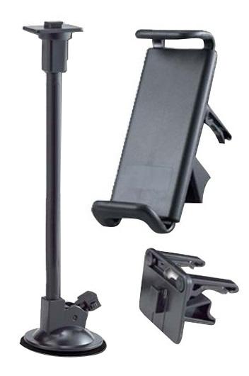 Suport auto SMART 3 - 08 + WSM-02L 27cm universal cu prindere pe grila de aerisire (air vent) sau cu ventuza pentru fixare pe parbriz