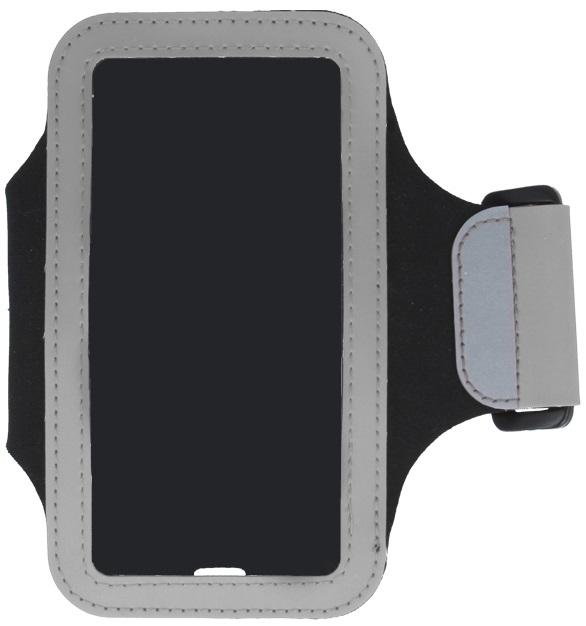 Banderola reglabila brat GreenGo Classic argintie pentru telefoane Samsung Galaxy S3 i9300 / Galaxy S3 LTE i9305