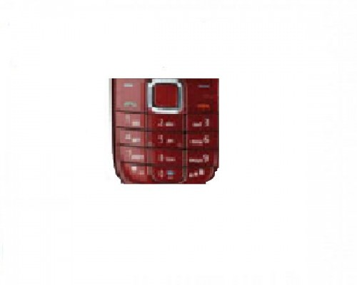 Tastatura telefon Nokia 3120c rosie