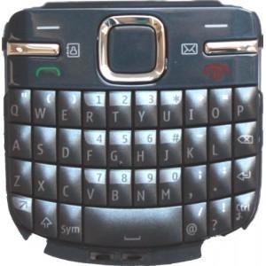 Tastatura Telefon Nokia C3 Slate Grey (albastra)