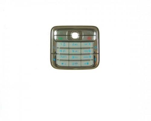 Tastatura Telefon Nokia N73 Argintiu/gri