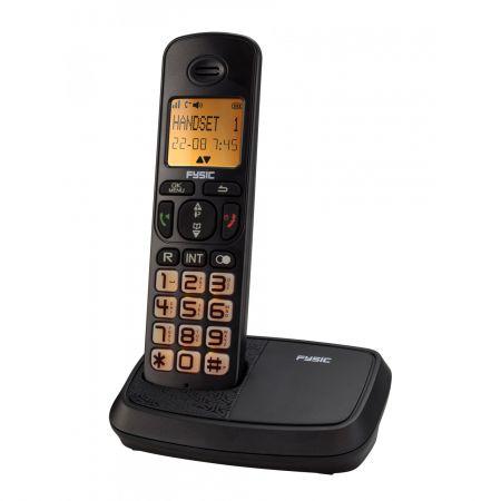 Telefon fix fara fir Fysic FX-5500 cu ecran si butoane mari pentru seniori
