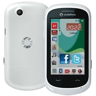 Vodafone 550 White Touchscreen
